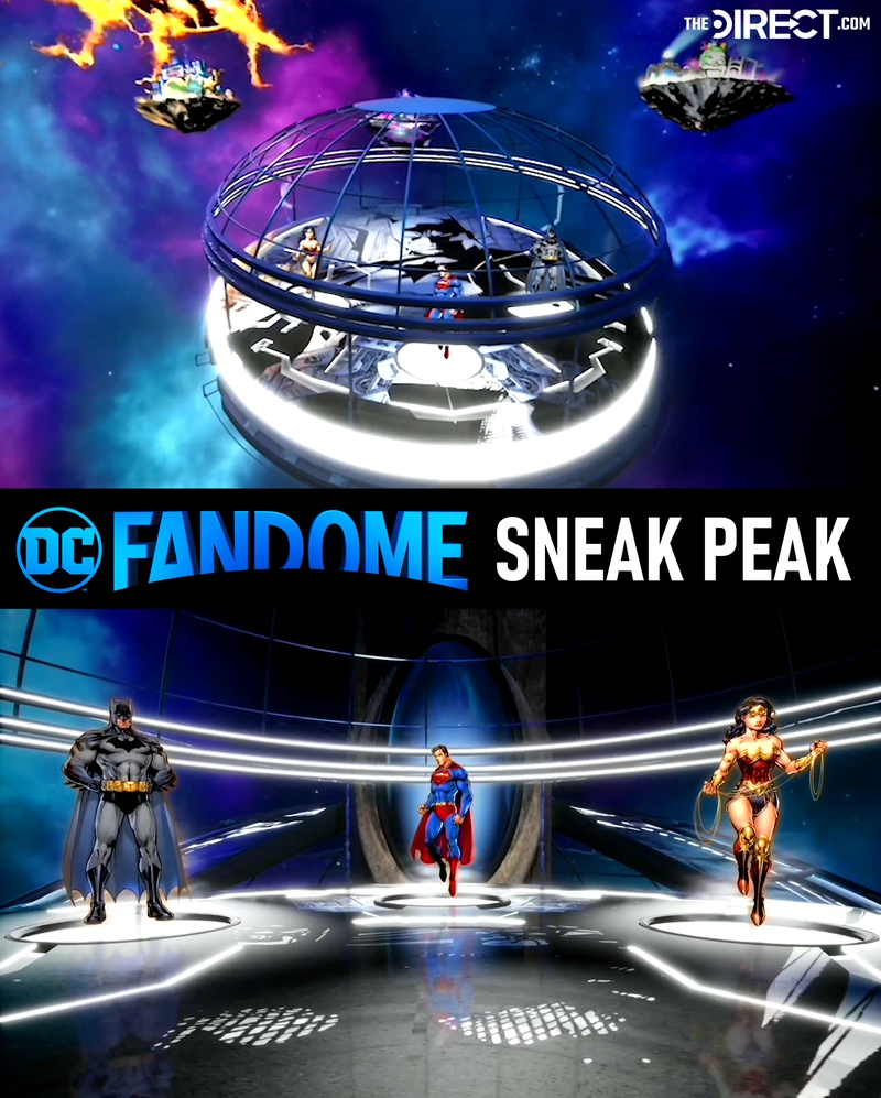 DC FanDome Sneak Peak