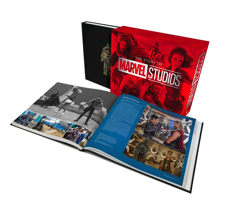 Marvel, Book, Making of