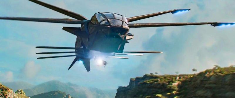 Dragon Flyer Black Panther