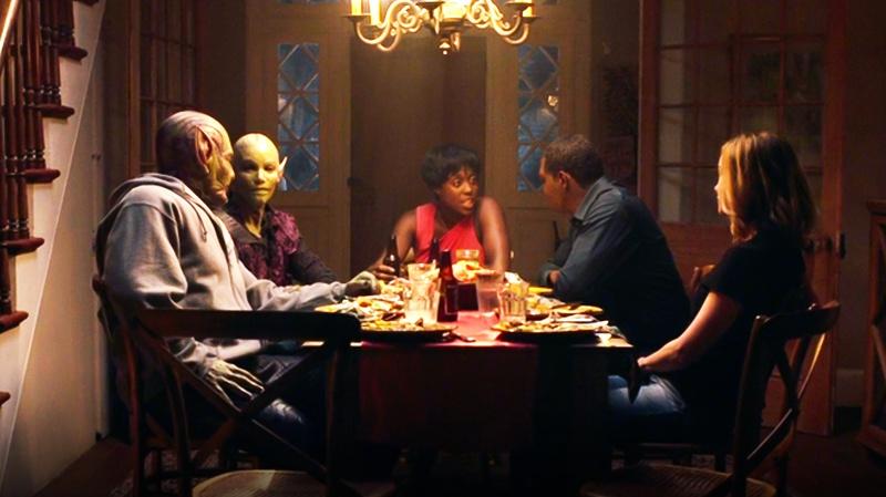 Captain Marvel family meal