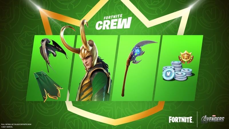 Fortnite Loki Items