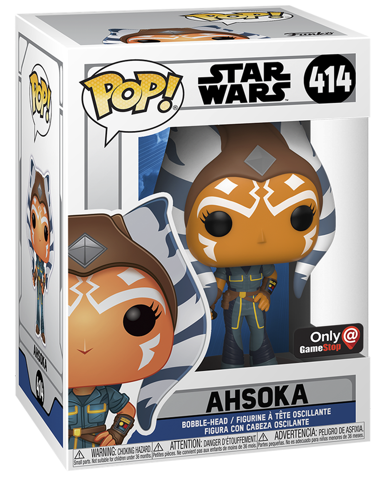 Ahsoka Season 7 Funko Pop Box Art Variant