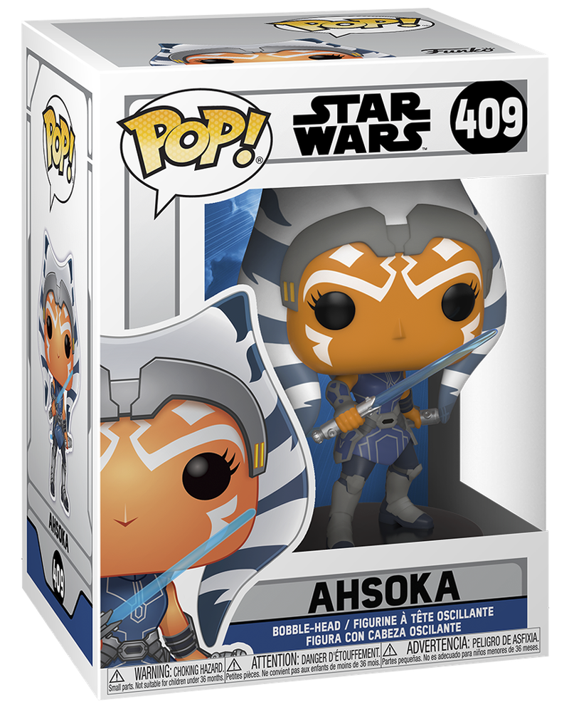 Ahsoka Season 7 Funko Pop Box Art