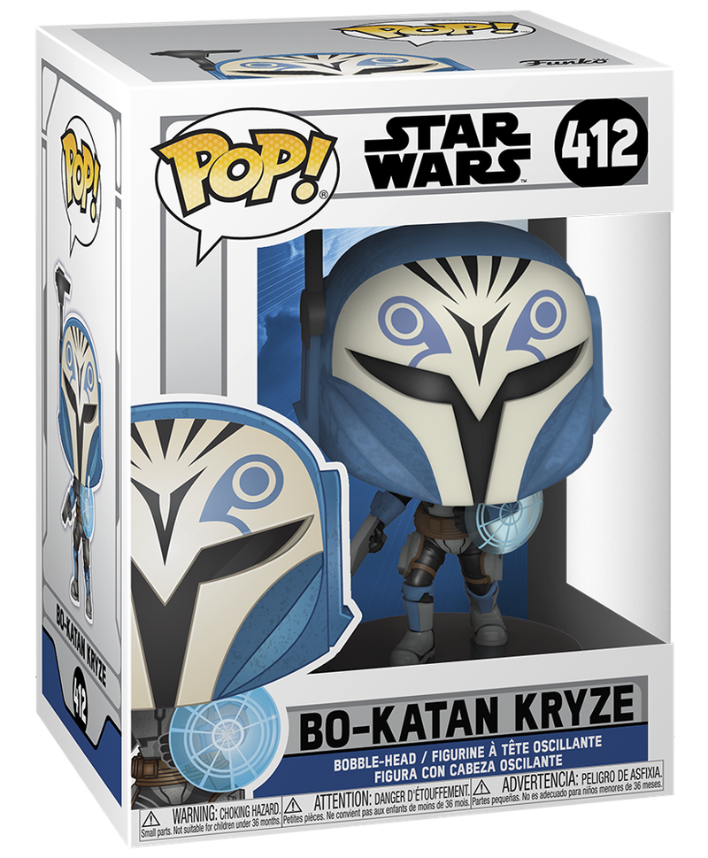Bo-Katan Season 7 Funko Pop Box Art