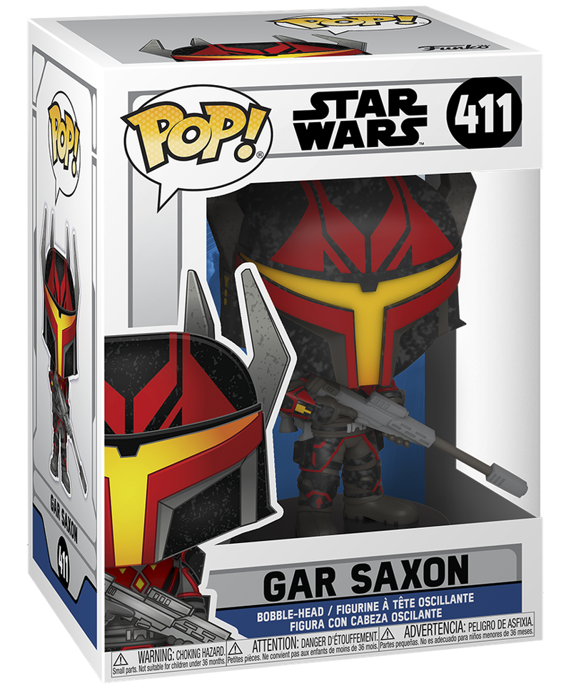 Gar Saxon Season 7 Funko Pop Box Art