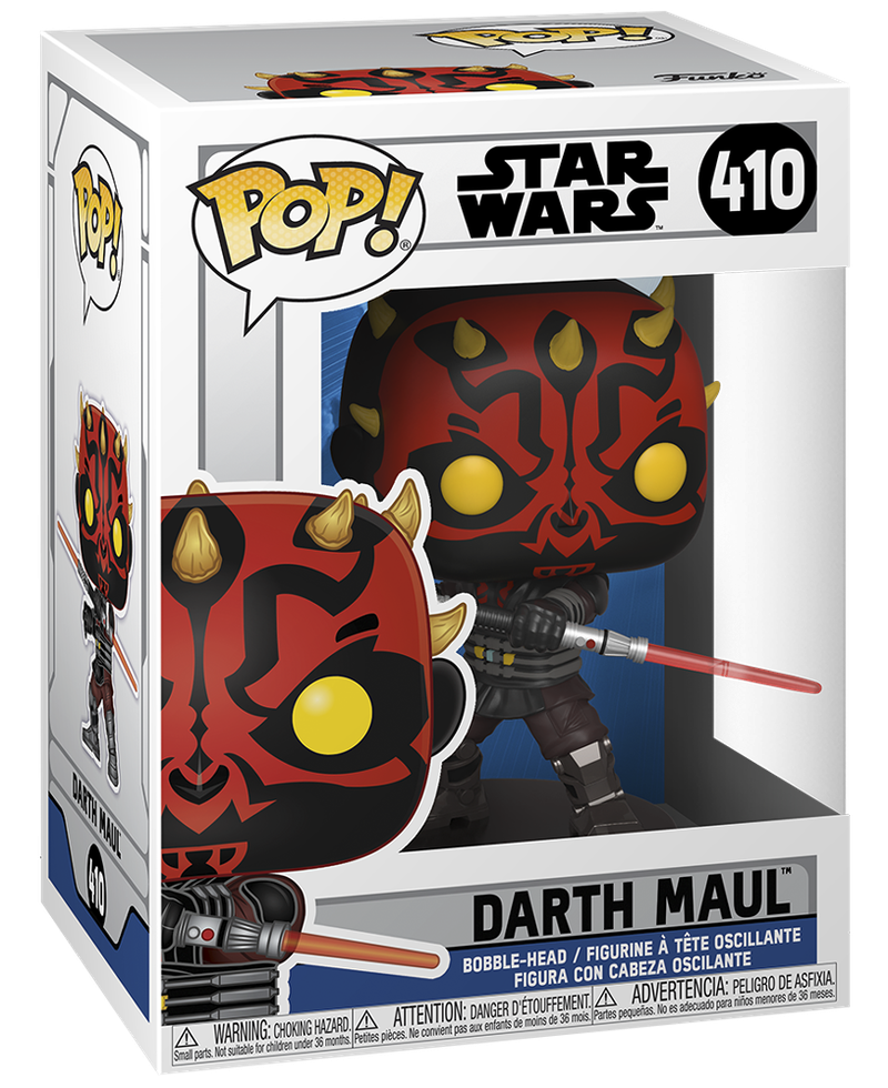 Darth Maul Season 7 Funko Pop Box Art