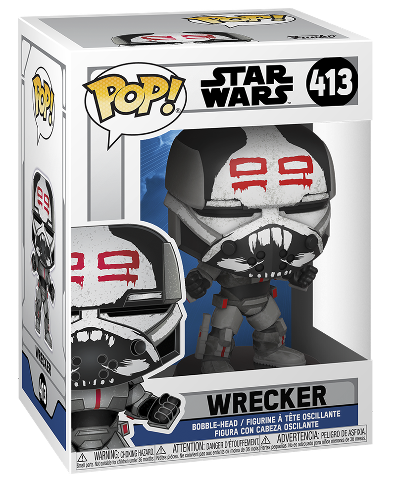 Wrecker Season 7 Funko Pop Box Art