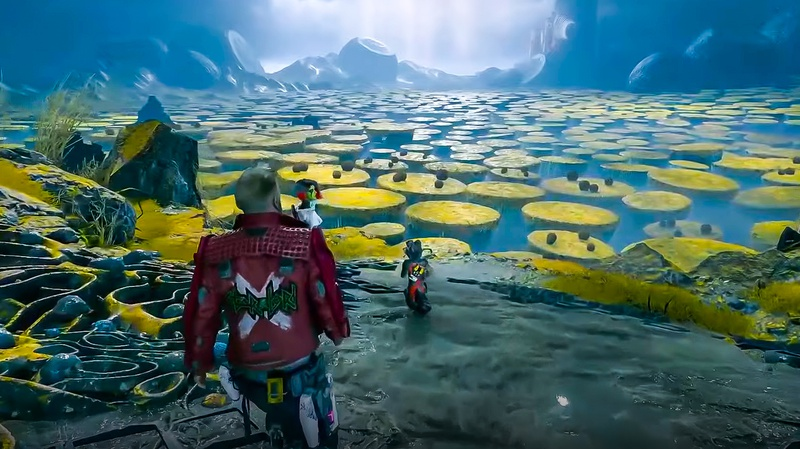 Guardians of the Galaxy game planet