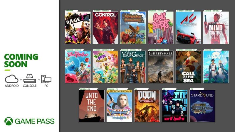 Games Pass December 2020