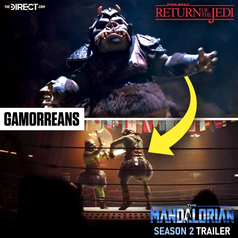 Gamorreans Return of the Jedi Mandalorian