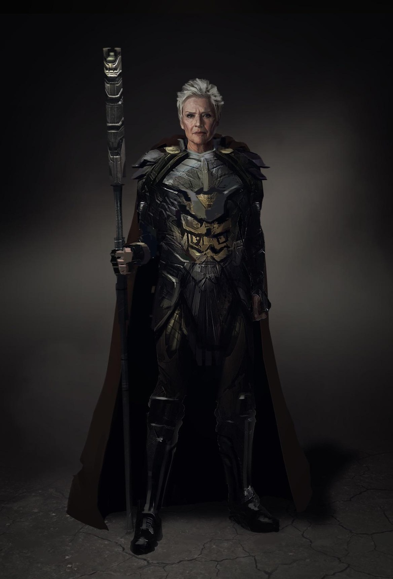 Granny Goodness Concept Art