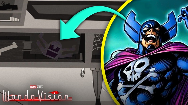 WandaVision Grim Reaper helmet