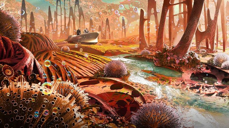 Guardians of the Galaxy Vol 2 concept art