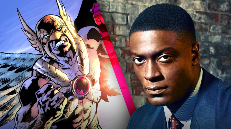 Aldis Hodge and Hawkman