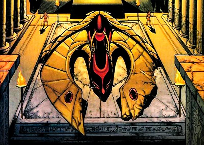 Hawkman Ship Black Adam