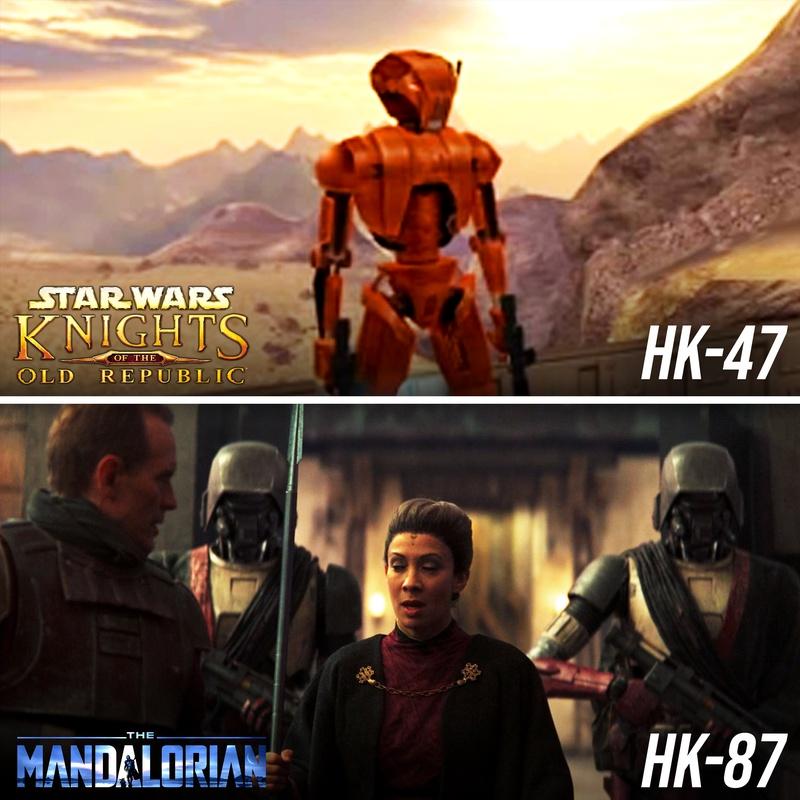 The Mandalorian HK Droids