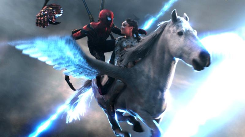 Avengers Endgame Valkyrie Spider-Man
