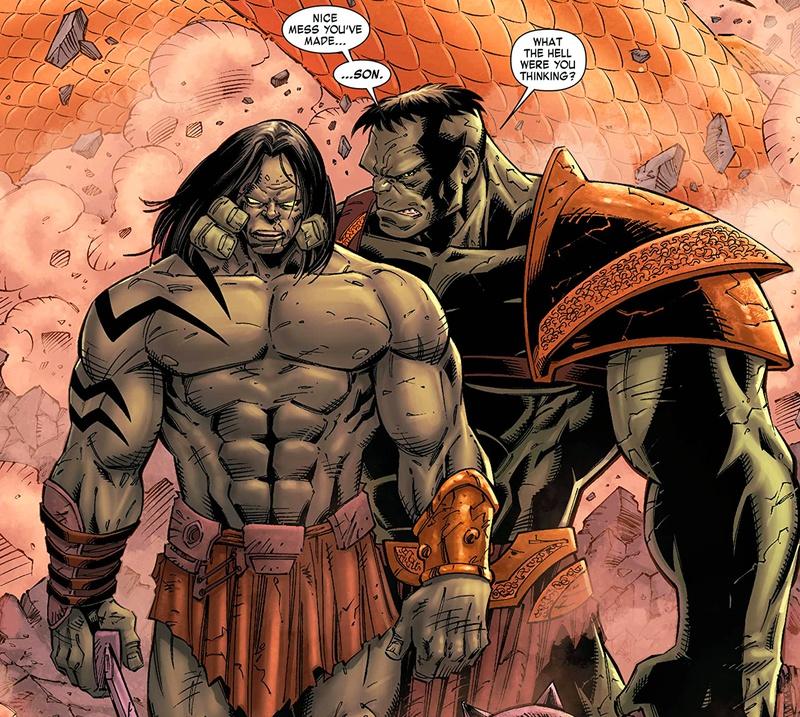 Hulk Skaar Planet Hulk