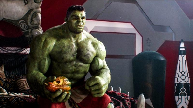 Hulk Thor Ragnarok No Shirt