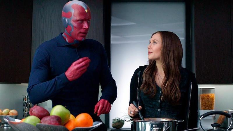 Captain America: Civil War Wanda and Vision