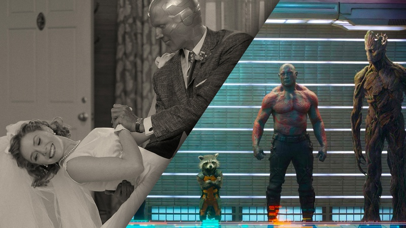 WandaVision and Guardians of the Galaxy