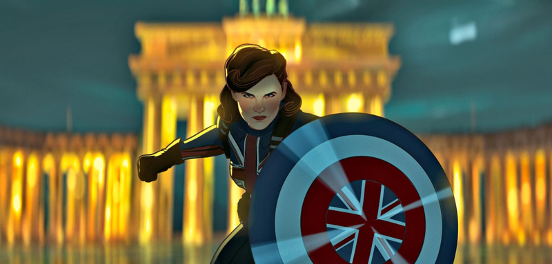 Captain Britain, Peggy Carter in What If...?
