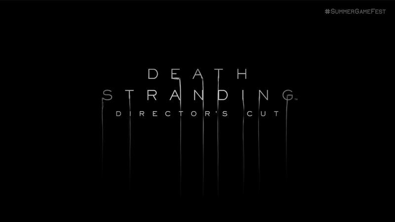 Death Stranding Directors Cut Title
