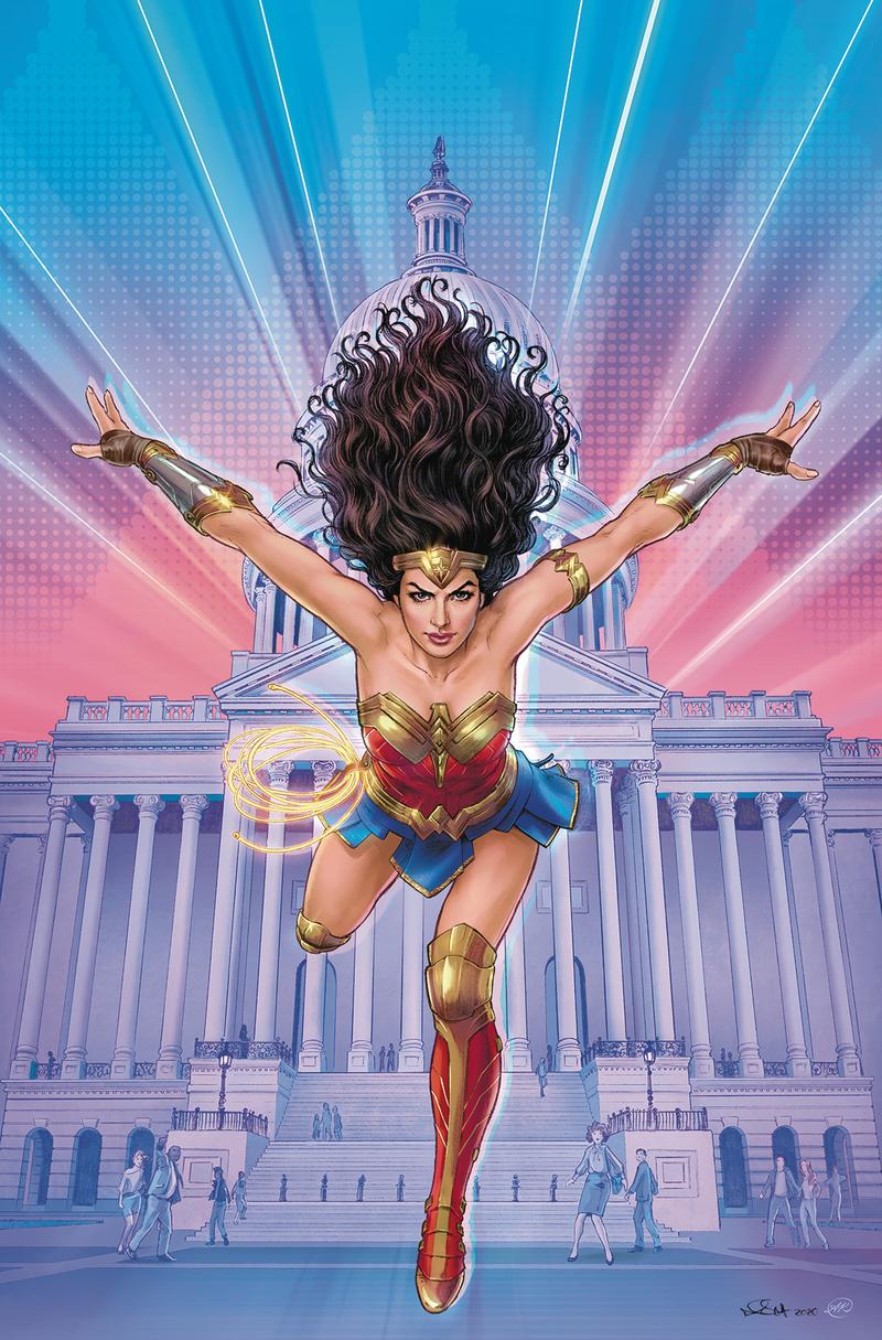 Wonder Woman Tie-In Cover