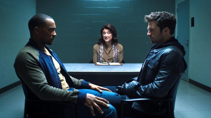 Falcon and Winter Soldier Therapy Scene