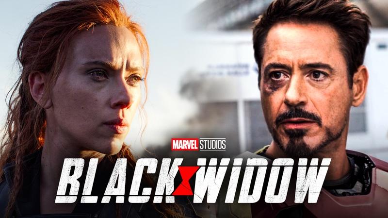 Black Widow, Tony Stark
