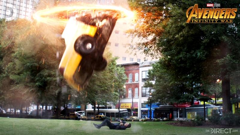 Avengers Infinity War Bruce Banner scene