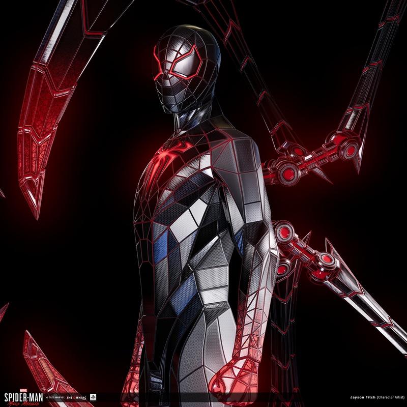 Miles Morales Programmable Matter Suit