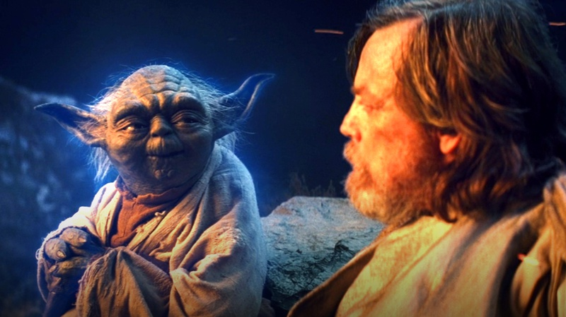 Yoda and Luke Skywalker