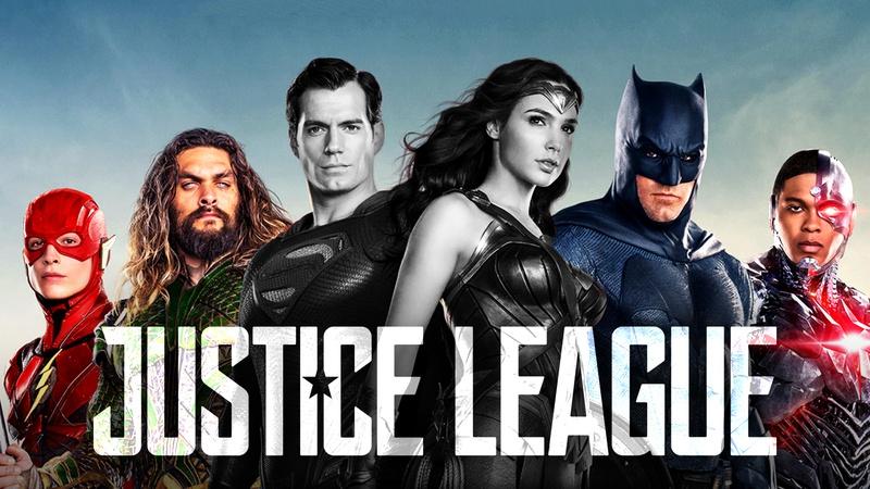 Justice League Superheroes movie