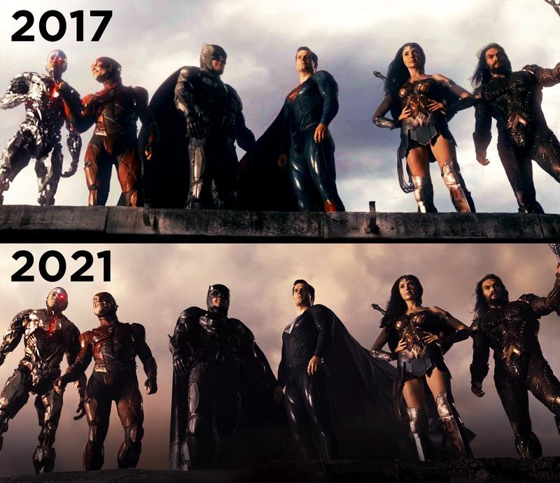 Justice League Joss Whedon Vs Zack Snyder Scene