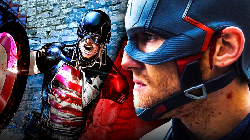 U.S. Agent comic, Captain America