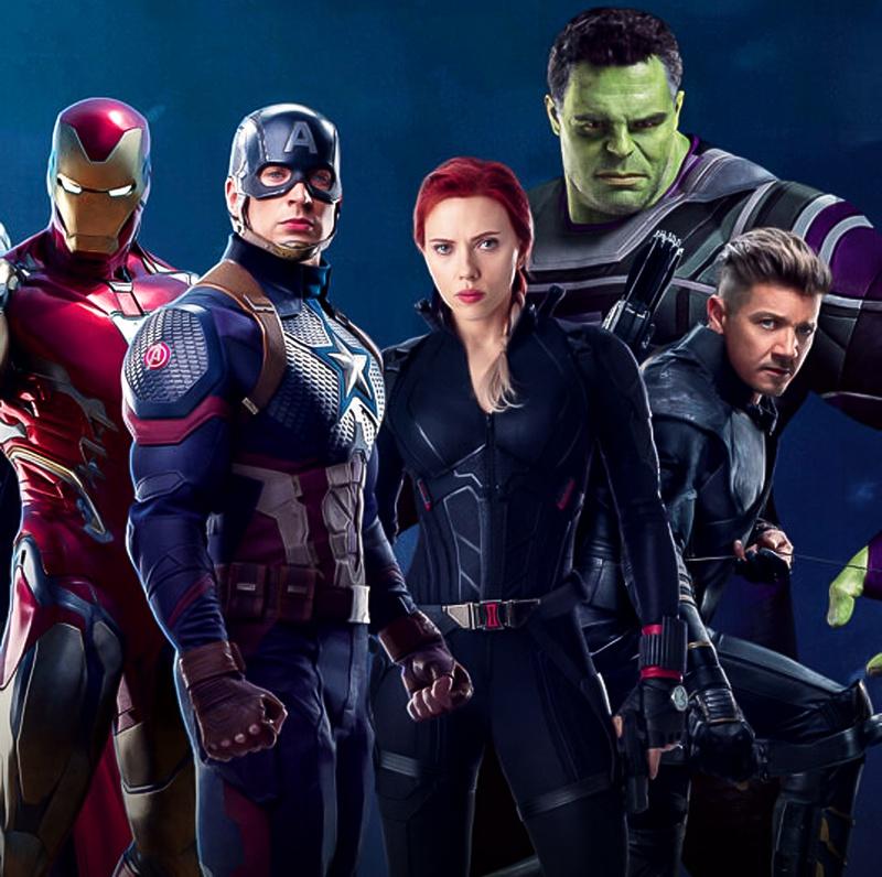 Avengers Endgame poster promo