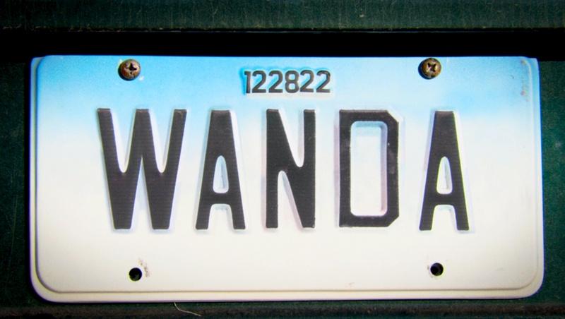 Wanda Number Plate