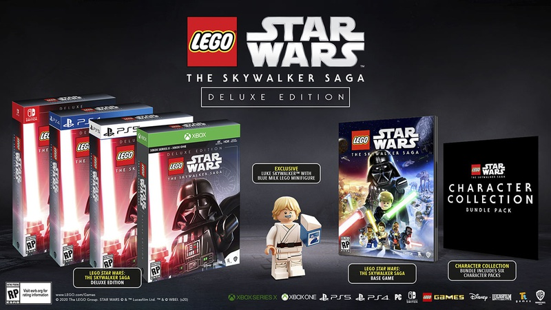 LEGO Star Wars Deluxe Editions