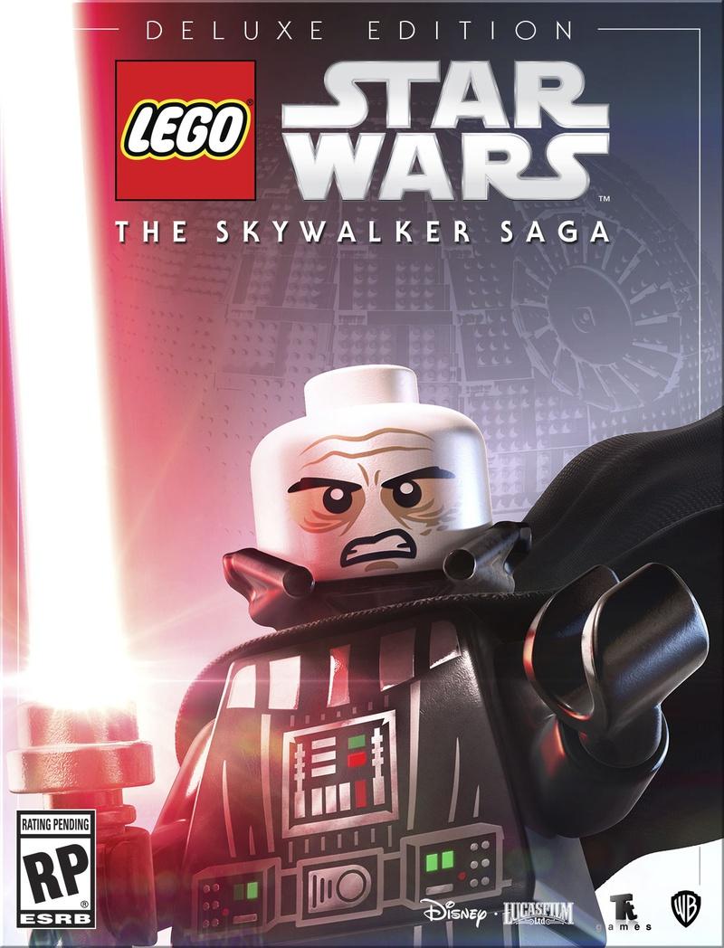 LEGO Darth Vader Unmasked Deluxe Edition
