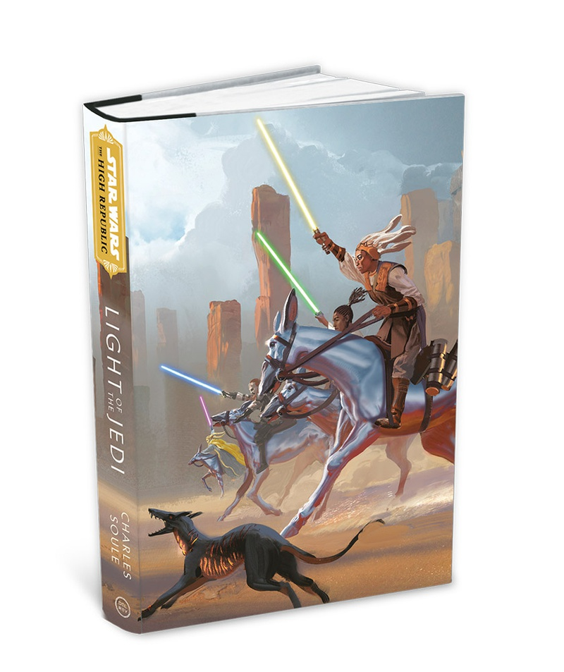 Light of the Jedi Cover Art from Star Wars