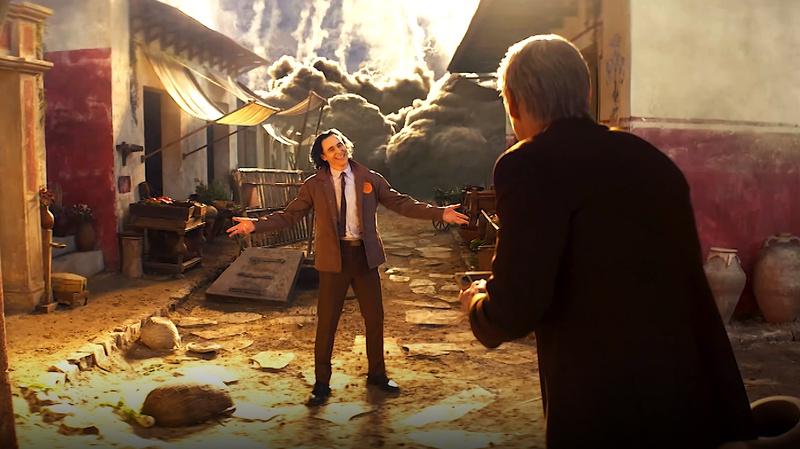Loki in Pompeii
