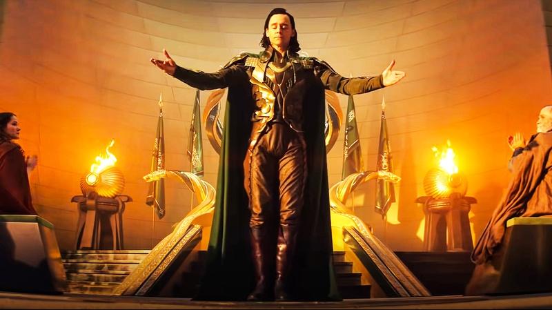 Loki King Asgard Scene