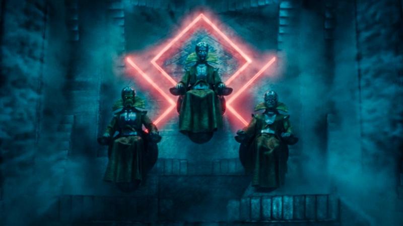 He who remains use Rune symbols at TVA