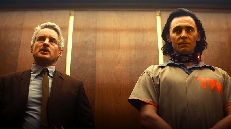 Owen Wilson and Loki