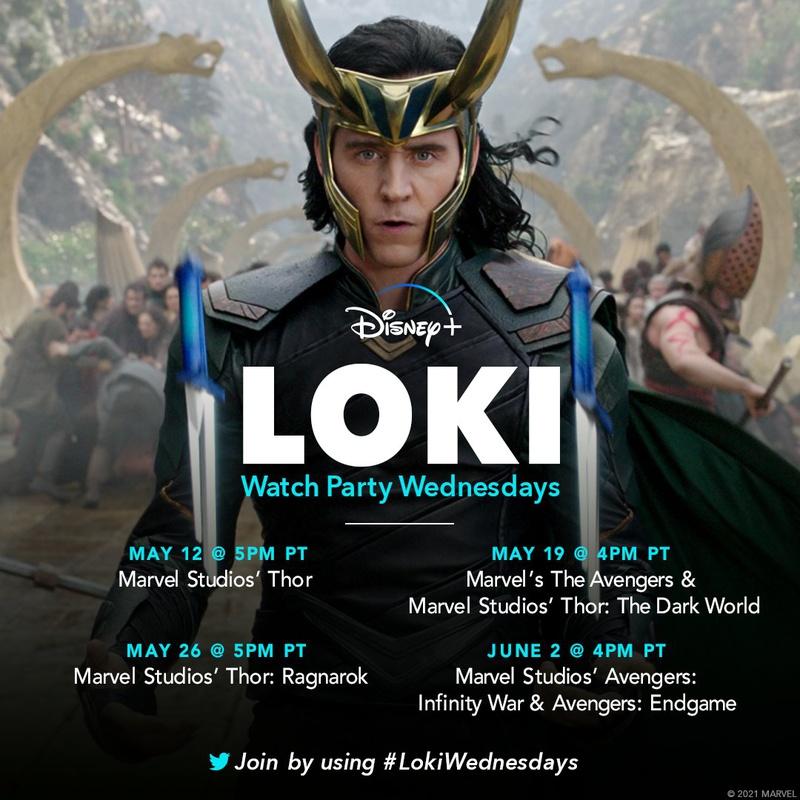 Tom Hiddleston Loki Thor Ragnarok Watch Party