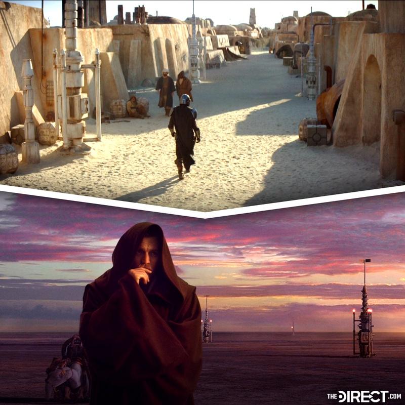 The Mandalorian and Obi Wan Kenobi
