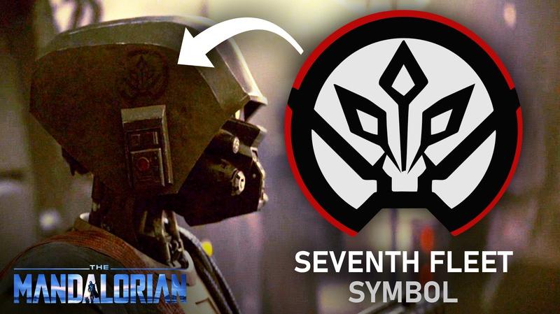 The Mandalorian Seventh Fleet Symbol