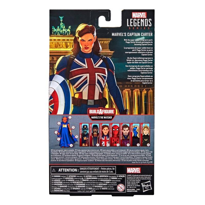 Captain Carter Marvel Legends