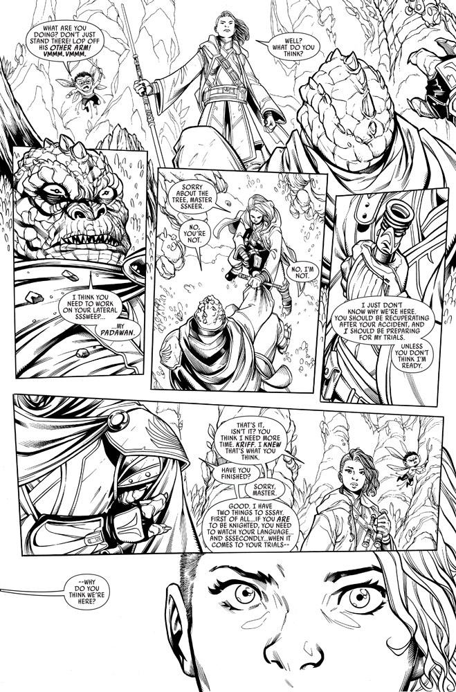 The High Republic Marvel Comic